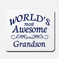 Awesome Grandson Mousepad