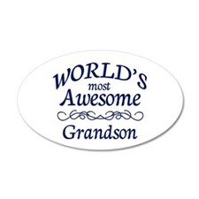 Awesome Grandson Wall Decal