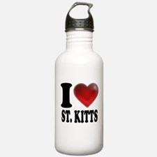 I Heart St. Kitts Water Bottle