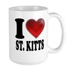 I Heart St. Kitts Mug