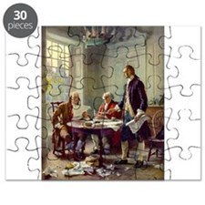 Declaration of Independence 1776 Puzzle
