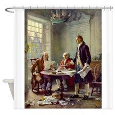 Declaration of Independence 1776 Shower Curtain