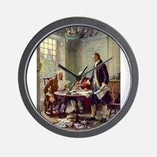 Declaration of Independence 1776 Wall Clock