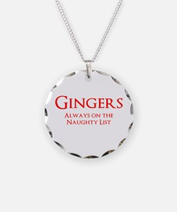 Gingers Naughty List Necklace