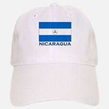 Nicaragua Flag Gear Baseball Baseball Cap