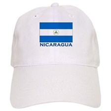 Nicaragua Flag Gear Baseball Cap