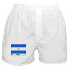 Nicaragua Flag Gear Boxer Shorts