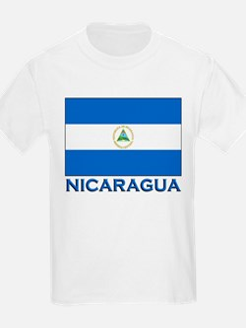 Nicaragua Flag Gear Kids T-Shirt