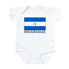 Nicaragua Flag Gear Infant Bodysuit