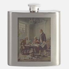 Declaration of Independence 1776 Flask