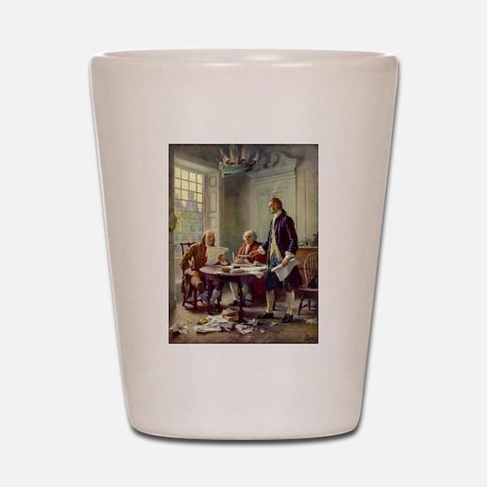Declaration of Independence 1776 Shot Glass