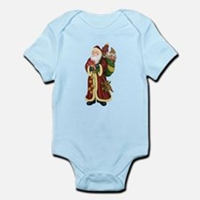 Santa Claus In The Forest Infant Bodysuit