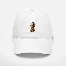 Santa Claus In The Forest Baseball Baseball Cap
