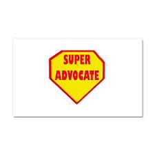 Super Advocate Car Magnet 20 x 12