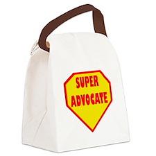 Super Advocate Canvas Lunch Bag