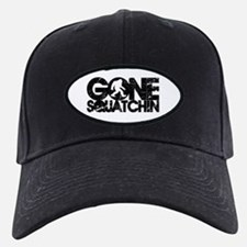 gone squatchin distressed Baseball Hat