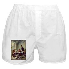 Declaration of Independence 1776 Boxer Shorts