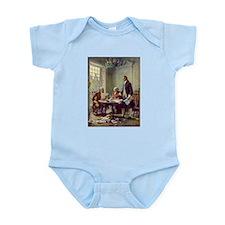 Declaration of Independence 1776 Infant Bodysuit