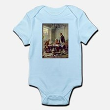 Declaration of Independence 1776 Infant Bodysuit
