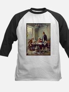 Declaration of Independence 1776 Kids Baseball Jer