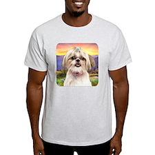 Shih Tzu Meadow T-Shirt