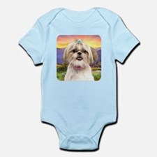 Shih Tzu Meadow Infant Bodysuit