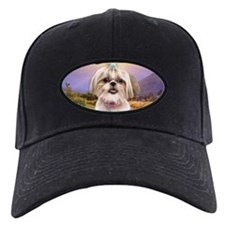 Shih Tzu Meadow Baseball Hat