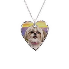 Shih Tzu Meadow Necklace