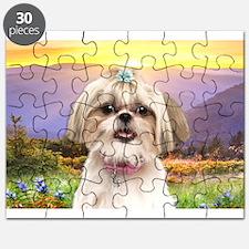 Shih Tzu Meadow Puzzle