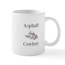 Asphalt Cowboy Trucker Mug