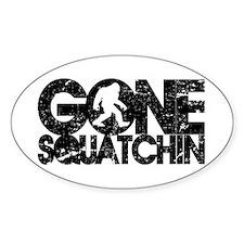 Gone Squatchin Bumper Stickers