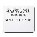 Funny work Classic Mousepad