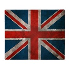 British Union Jack Throw Blanket