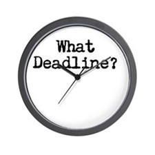 What Deadline Wall Clock