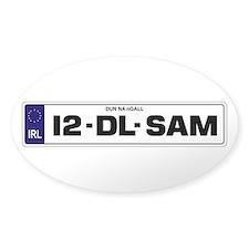 12-DL-SAM Decal