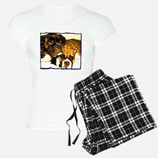 Boxer Dog Friends Pajamas