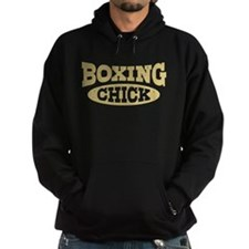 Boxing Chick Hoodie