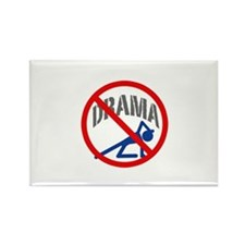 NO DRAMA Button Magnets