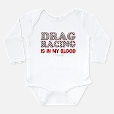 Drag Racing Blood Body Suit