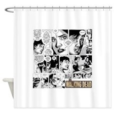 Glenn And Maggie Shower Curtain