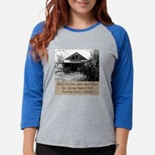 Funny Box springs mountain reserve Womens Baseball Tee