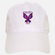 Domestic Violence Awareness Butterfly Ribbon Baseball Baseball Cap
