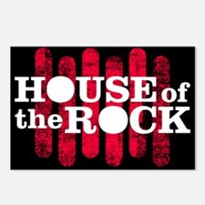 """House of the Rock"" Logo Postcards (Package of 8)"