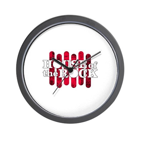 """House of the Rock"" Logo Wall Clock"