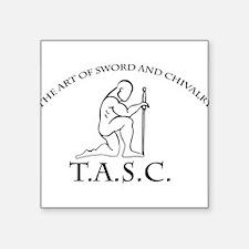"""T.A.S.C. Square Sticker 3"""" x 3"""""""