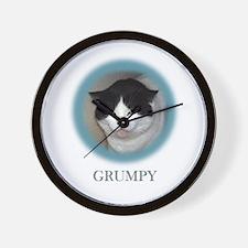 Grumpy Cats Wall Clock