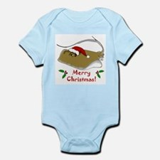Christmas Stingray Infant Bodysuit