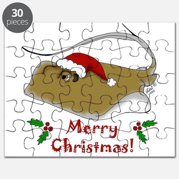 Christmas Stingray Puzzle