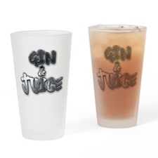 gin and juice Drinking Glass