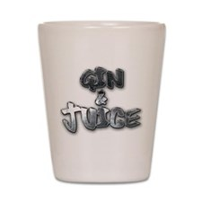 gin and juice Shot Glass